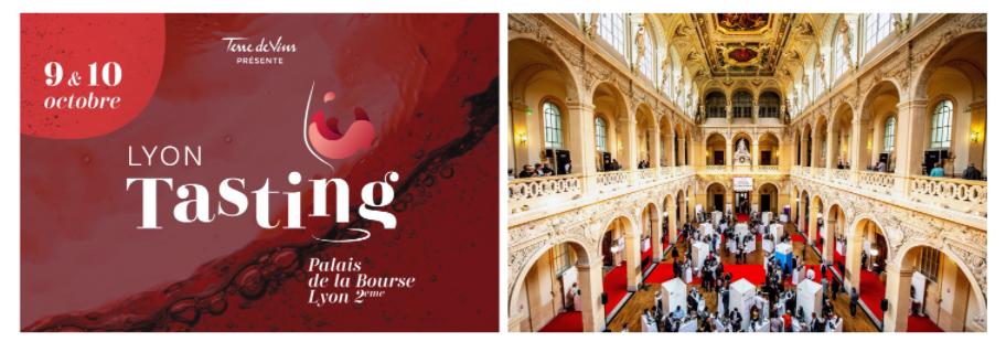 Lyon tasting, rendez-vous de l'oenologie les 9 et 10 octobre au Palais de la Bourse 25711